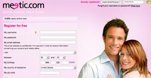 Registro gratis meetic