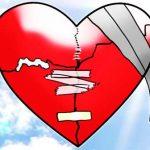 como arreglar un corazon partido